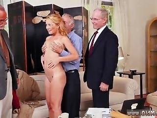 Teen Swallows Old Man Frankie And The Gang Tag Team A Door To Door