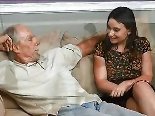 Stp3 Horny Niece Almost Caught Fucking Her Uncle By Dad