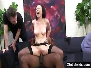 Hot Pornstar Cuckold With Cumshot