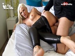 amatør, rompe, rompe knull, stor rompe, blowjob, brystet, cumshot, møkkete, fetish, knulling, tysk, lær, tattovering
