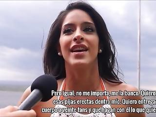 Celebrity Gangbang Argentina 1x03: Celeste Muriega