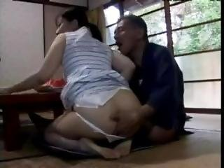 Japanese Milf Are Sexually Harassed By Her Father In Law - Hdmilfcam.com