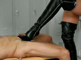 Shoot Your Cum To My Boots