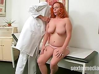 Redhead Gyno Exam