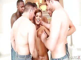 Keisha Grey - Keisha Greys 1st Gangbang
