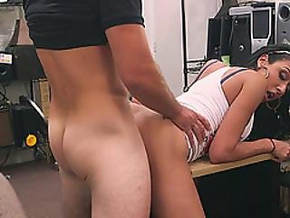 Awesome Latina Babe Loves Getting Fucked By A Massive Cock