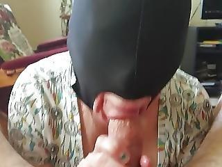 Mature Mom Sucking For Cum 2