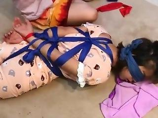 [silk Queen]bondage Pajamas