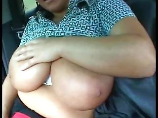 German Huge Boob Car