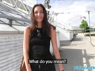 Publicagent Fit Wannabe Model Cheats On Boyfriend With Stranger In Public