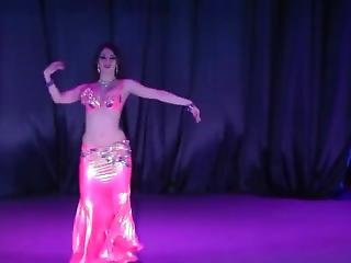 Beautiful Bellydancer In A Sexy Outfit