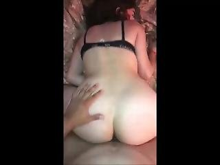 Hot Cheating Brunette Wife On Real Homemade