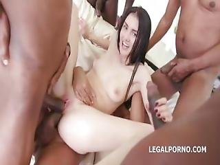 anal, broche, foder, gangbang, interracial, masturbação