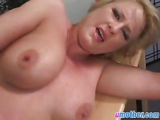 Busty Mature Babe Gets Pussy Stretched By Cock