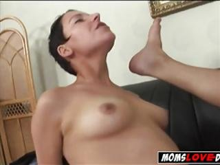 Diaper Wearing Husband Receives Strapon Up His Ass In Femdom Amateur Fetish