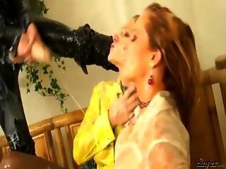 Bukkake Fetish Glamour Lesbians Strapon Fucking