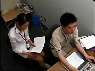 Shirt Collar Up Office Worker