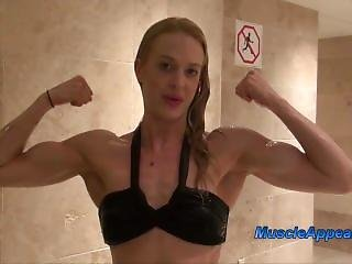 Alison Muscles Girl World Amazing Biceps Peak (from Web)
