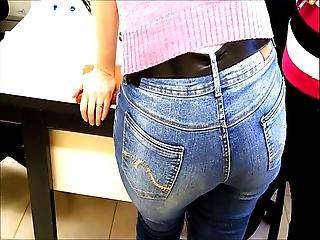 Culetto, Jeans, Ufficio, Voyeur