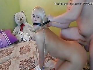 Blonde Teen Tied Up And Fucked By Boyfriend