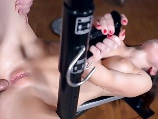 Submissive Milf Tina Kay Gets Her Asshole Filled During Domination At Gym