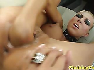 Blonde Fist Fetish Clara G Solo Fisting