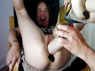 Extreme Teen Fist Fucked And Showered In Piss