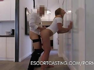 High Priced Callgirl Is Caught On Hidden Cam Giving Amazing Fuck