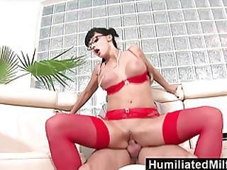 Humiliatedmilfs  Horny Secretary Loves A Cock Up Her Ass