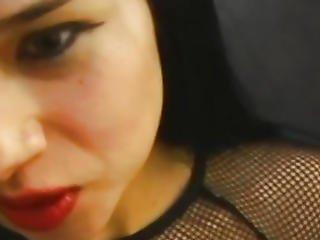 Retro Youthful Nympho Goth Wanks Old Lad Pov