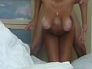 amatör, stortuttad, doggystyle, tysk, milf, hängtuttar, sex, webcam