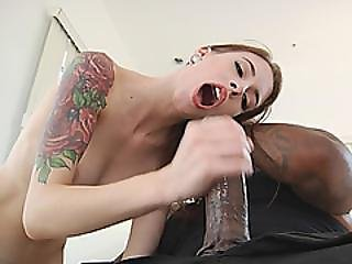 Spoiled Flexible Teen Deep Throats And Gets Penetrated Real Hard By Throbbing Black Cock