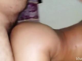 Old Asian Woman Ass Fucking And Cum Shot