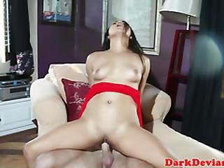 Asian Squirting Cockwhore Gets Mouthfull Cum