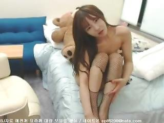 asiatique, bonasse, coréene, webcam