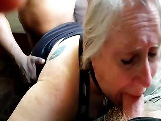 Liz Sucks Her Owner While Getting Fucked From Behind