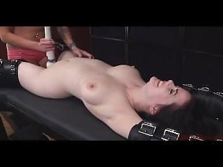 Thick Milky White Chick Tickled