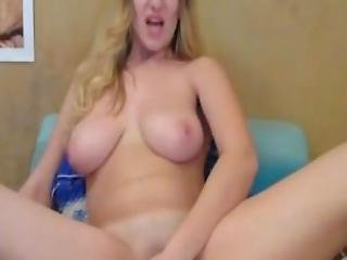 Perfect Hot Busty Blonde Bombshell Cam Video