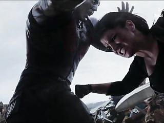 Ballbusting. Gina Carano Super Vilã Em Mixed Fight