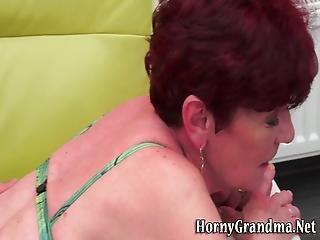 anciano, abuela, duro, masaje, madura, vieja