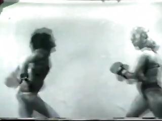 Female Boxing Silent Picture