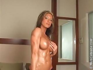Oiled Fitness Babe Shonda Lee