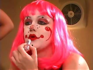 Lesbian Clowns Circus Fantasy