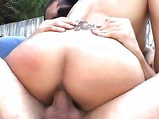 Ponytail Asian Pounding