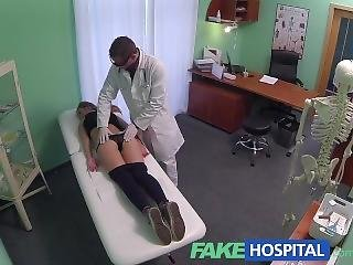 Amateur, Brunette, Cream, Creampie, Doctor, Hospital, Pornstar, Pov, Seduced, Spit