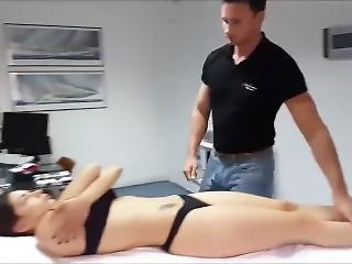 cul, bonasse, gros cul, gros téton, docteur, massage