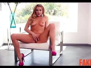 блондинка, знаменитость, мастурбация, секс, секс ленты