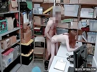 Lp Officer Romping Pepper Hart On Top Of His Cock