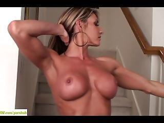 Busty Milf Mercedes Johnson Rubs Clit