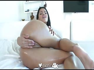 4k - Exotic4k Petite Latin Teen Josie Jagger Drenched Pussy Fucked
